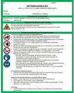 Download Dokument Betriebsanweisung Arbeitsplatz/bereich