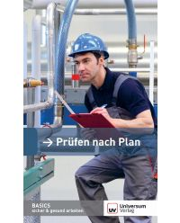 Broschüre Prüfen nach Plan - Basics sicher & gesund arbeiten