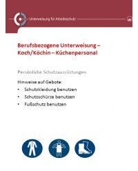 Download Dokument Berufsbezogene Unterweisung Koch/Köchin- Küchenpersonal