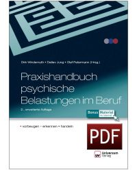 Download Dokument PDF Praxishandbuch psychische Belastung im Beruf - vorbeugen, erkennen, handeln