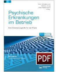 Download Dokument E-Book PDF Psychische Erkrankungen im Betrieb - Praxisreihe Arbeit, Gesundheit, Umwelt