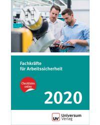 Taschenbuch Fachkräfte für Arbeitssicherheit 2020