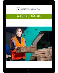 Download Dokument Gesunder Rücken - Unterweisung interaktiv