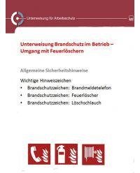 Download Dokument  Unterweisung Brandschutz im Betrieb - Umgang mit Feuerlöchern