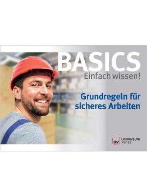 Broschüre Grundregeln für sicheres Arbeiten- Basics Einfach wissen