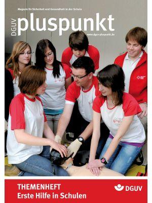 Zeitschrift Erste Hilfe in der Schule - Pluspunkt Magazin für Sicherheit und Gesundheit in der Schule