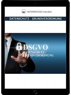 Datenschutz - Grundverordnung - Unterweisung interaktiv - Download