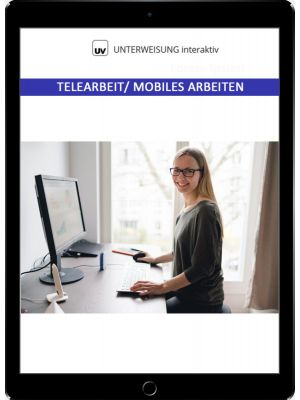 Telearbeit - Mobiles Arbeiten - Unterweisung interaktiv - Download