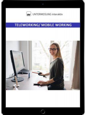 Teleworking - Mobile Working - Unterweisung interaktiv - Download