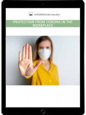 Protection from Corona in the Workplace - Unterweisung interaktiv - Download