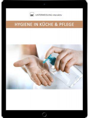 Hygiene in Küche und Pflege - Unterweisung interaktiv - Download