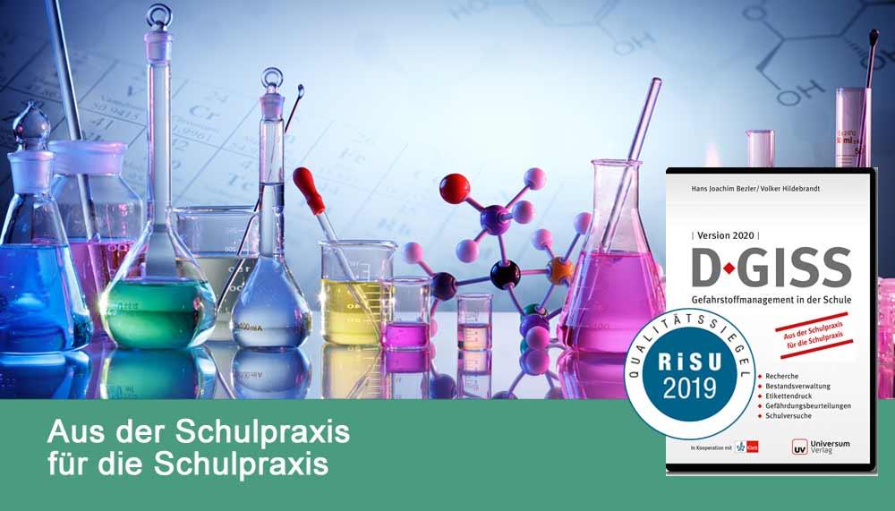 D-GISS 2020, das Deutsche Gefahrstoff-Informations System Schule
