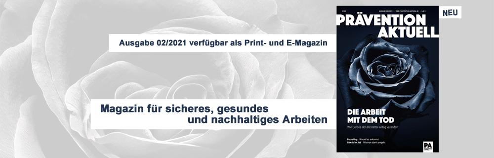 Neue Ausgabe April 2021